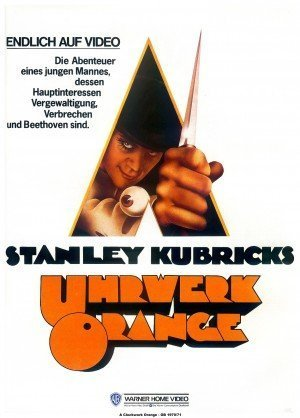 A Clockwork Orange (1971) - Poster