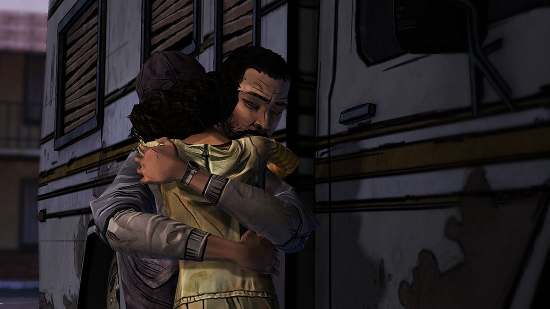 The Walking Dead - Season 01 - Lee und Clementine